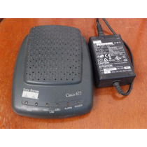 Router Modem Adsl Cisco 677 Con Fuente Original