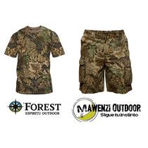 Conjunto Deportivo Camuflado Para Caza Camping Forestleather
