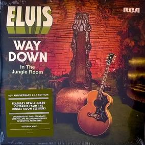 2 Lps Elvis Presley Way Down In The Jungle Room 2016 Vinil