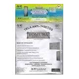 Tela Mosquiteira Anti-inseto Contra Dengue Kit P/ 5 Janelas