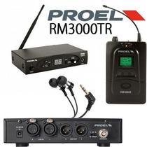 Sistema Proel De Monitoreo Personal Inalambrico Mod. Rm300