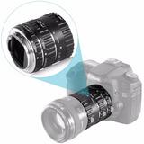 Tubo Extensión Macro Para Canon Autofocus Ttl Envio Gratis