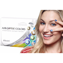 Pupilentes Air Optix Colors Freshlook Mensual Brasileño