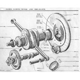 Manual Despiece Citroen 3cv. Incluye Esquema Eléctrico.