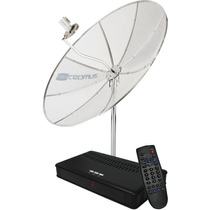 Antena Parabolica Cromus Cr1500 1,50m, Multiponto C/receptor
