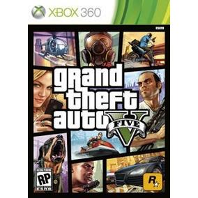 Gta 5 Grand Theft Auto V Xbox360 Xbox 360 Midia Física Pt Br