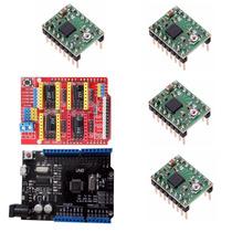 Kit Cnc Shield V3 + Arduino Uno R3 + 4 Driver A4988