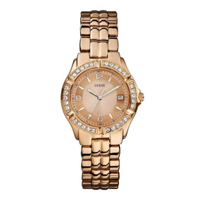 Reloj Guess Dama Dazzling U11069l1 Oro Rosa Nuevo