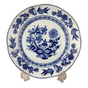 Prato Raso Porcelana Antiga Steatita Cebolinha (unidade)