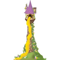 Festa Rapunzel Enrolados - 50 Recorte Para Tubete Com 10cm