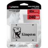 Ssd Disco Solido 2.5 Kingston 240gb Uv400 550/490mb/s