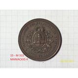 Medalla Ferrocarril Andino Roca Presidente 1885 23 Gr 38mm