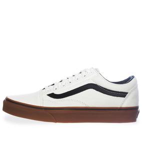 Tenis Vans Old Skool - 38g1mw1 - Blanco - Hombre