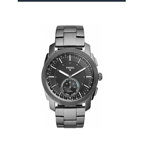 Reloj Fossil Q Ftw1166 Smartwatch Para Hombre, Color Gris