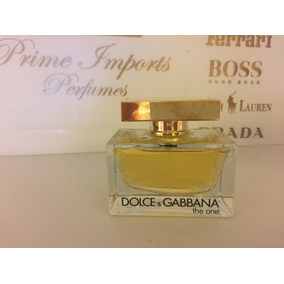The One Feminino 75 Ml - Dolce Gabbana - Original - Tester