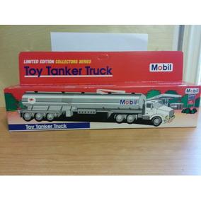 Caminhão Tanque - Vintage - Toy Tanker Truck - Mobil - Raro