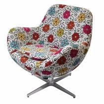 Cadeira Sala Poltrona Design Elisabeth