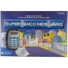 Jogo Super Banco Imobiliário C/ Máquina Eletrônica De Cartão