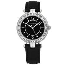 Reloj Stuhrling Original Serena 550 Dama Mujer Negro Joyas