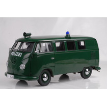 1956 Vw Combi Polizei Sunstar Escala 1/12