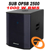 Caixa Sub 15 Ativa Oneal Opsb 2500 1000w Rms Grave