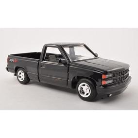Chevrolet Pick Up 454 Ss, Negro, 1992, Modellauto, Confecci