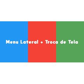Menu Lateral + Troca De Tela - Projeto Aia - App Inventor