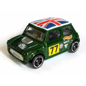 Mini Cooper Hot Wheels 1/64 Verde