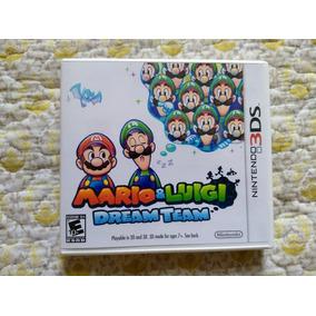Mario & Luigi Dream Team 3ds Original
