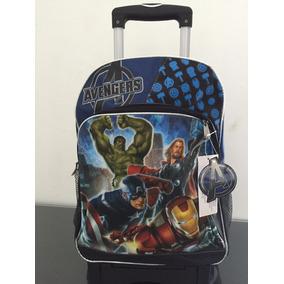 Advengers Super Heroes Mochila Llantitas $990.00 Dvn