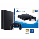 Nuevo Ps4 Consola Play Station 4 Slim 1tb - 1 Tb - Cuh 2115b