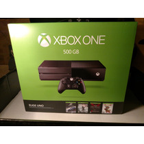 Xbox One 500gb Nuevo/sellado