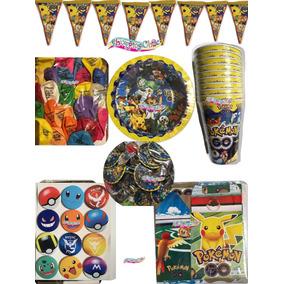 Pokemon Artículos Fiesta Paquete 20 Niños Fiesta Infantil