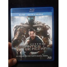 Pelicula Blu Ray De Gigantes De Acero Combo Br+dvd