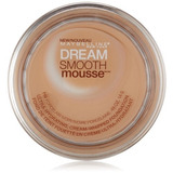 Maybelline New York Dream Smooth Mousse Foundation, Porcelai