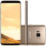 Celular Samsung Galaxy S8 + Plus 64gb Dourado Original
