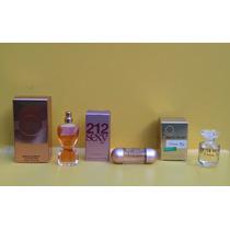 Kit Miniaturas Perfume Importado, Produto Original..