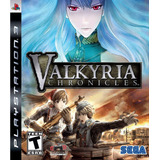 Valkyria Chronicles Ps3 Nuevo