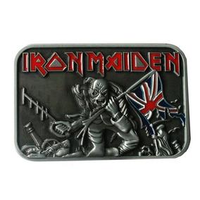 Iron Maiden Hebilla Metal Rock Oferta + Envío Gratis