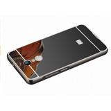 Protector Bumper Aluminio Espejo Xiaomi Redmi 5 Plus Negro
