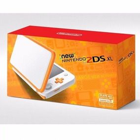 New Nintendo 2ds Xl Branco Laranja Novo Lacrado Nota Fiscal