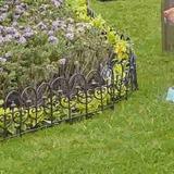 Cerco 60 Cm Flor Liz Plástico Negro Tec Ea9004983da Technolo