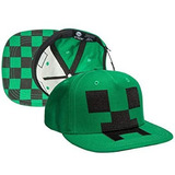 Gorro Minecraft Creeper Original Importado Mine Craft