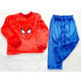 Pijamas Termicas Batas Baño Personalizadas Tallas (2 A La 6)