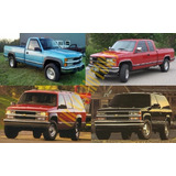Manual Taller - Chevrolet Silverado Grand Blazer C K 97 - 99