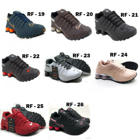 31e658260c1 Kit 4 Pares Tenis Nike Shox Black Friday Pronta Entrega Top