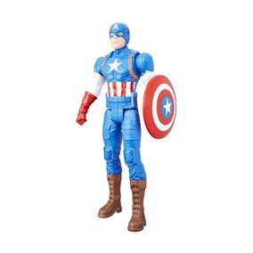 Boneco Hasbro Titan Heroes - Capitão América - 30 Cm
