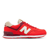Tênis Casual New Balance 574 Masculino Vermelho