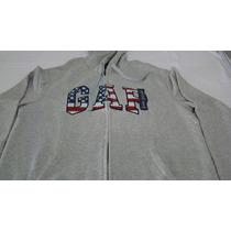 Blusa Moletom Gap Tam M Original Dos Estados Unidos Logo 3d