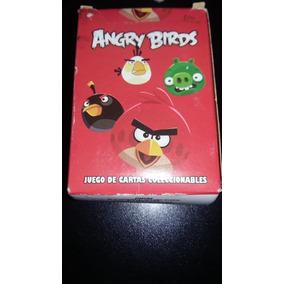 Angry Birds Mazo De Cartas Coleccionables